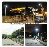 12watt surafricano todos en una lámpara del jardín de la calle LED de Soalr