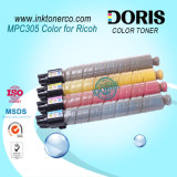 Cartucho de tóner compatible con Japón Mpc305 MP C305 Copiadora de color para Ricoh Mpc305sp 305SPF