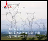 Transmissão de potência e torre do aço da distribuição