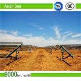 Bodenmontage-Sonnenkollektor-System für hohe Leistungsfähigkeits-Sonnenenergie
