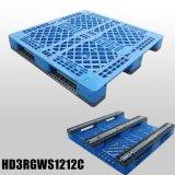 Da superfície Stackable da grade de Rackable da plataforma do HDPE pálete plástica da bandeja