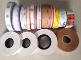 De cinta de papel impresa de encargo de Kraft usado para atar