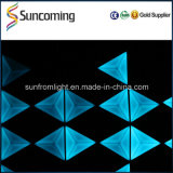 60X60cm Controle SD DJ Light Efeito de visão 3D LED Triangle Wall Panel Backdrop Light