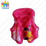 Galleggianti gonfiabili di galleggiamento caldi del rivestimento della maglia del vestito di vita di nuotata di Chidren dei capretti del PVC di Finego