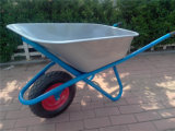 ロシアMarketのためのWb6425g Zinc Plated Wheelbarrow