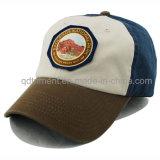 Boné de beisebol lavado do golfe do esporte do bordado do Twill do algodão (TMB0831)