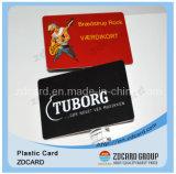 Scheda di plastica del PVC della banda magnetica dello Smart Card