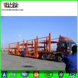 Remorque de transporteur de véhicule d'essieu du tambour de chalut 3 de véhicule à vendre