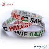 Braccialetto di gomma di modo piano dei UAE/braccialetto del polsino
