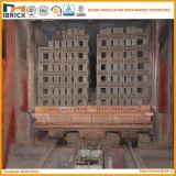 Grand projet de four à tunnel de brique d'argile de sortie