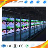 Pantalla de visualización de interior de LED de la pantalla de la venta caliente P7.62 LED