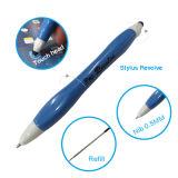 Schreibkopf-einem doppelten Zweck dienende Feder-Schreibkopf-Plastikfeder für Touch Screen rotieren