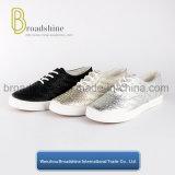 ثلاثة ألوان [بو] نساء أحذية مع شريط أسلوب