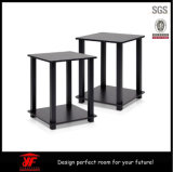 Piedini moderni del tavolino da salotto del metallo di vendite del Amazon lucentezza calda del nero di alta