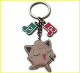 에나멜을 입힌 음악 주 및 노래 돼지 동물 Keychain