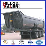 Hyva 수압 승강기 실린더 30-60 Cbm 팁 주는 사람 트레일러/옆 반 덤프 트럭 트레일러