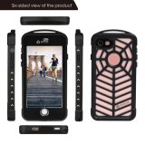 IP68 Outdoor Hiking Waterproof Shockproof Spider Cell Phone Case pour iPhone 7 (SPMC-7G)