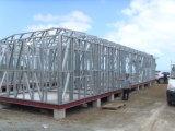Edificio de la casa prefabricada africana fácil de la instalación de la alta calidad/casero prefabricados