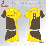 Healong Crew Neck Dye Sublimation Camisas de futebol baratas
