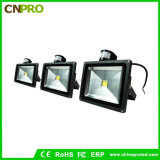 reflector del sensor LED de 10With20With30With50W PIR