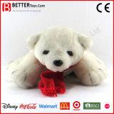 Urso polar enchido do brinquedo do baixo preço