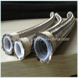 Mangueira de Teflon trançada flexível do fio de aço PTFE de SAE100 R14
