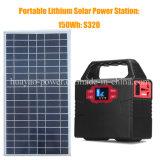 150wh 휴대용 태양 발전기 재생 가능 에너지 건전지 저장