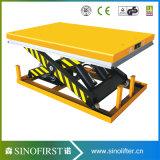 1ton zu 3ton Scissor Ladeplatten-Aufzug-Plattform