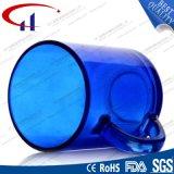 220ml 최고 인기 상품 파란 색깔 유리제 물 컵 (CHM8128)