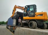 escavatore idraulico della rotella 4WD, escavatore 4X4 da vendere