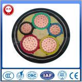 cable eléctrico multifilar acorazado aislado PVC de cobre del conductor 0.6/1kv