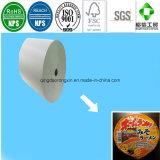 Papel revestido del PE para el tazón de fuente/la taza de los tallarines