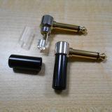 Rechtwinklige 90 6.35mm 1/4 männlicher Verbinder-monostecker (5.0151)