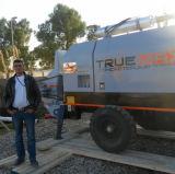 Misturador concreto portátil pequeno da sustentação hidráulica