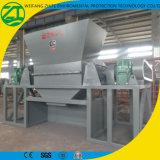Desfibradora doble del eje para el barril plástico/la basura/la chatarra de madera de /Tire/Rubber/Solid