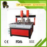CNC 조각 기계를 광고하는 목공