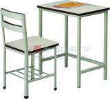Kuwait Tender School Furniture Single Student Desk and Chair
