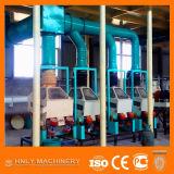 Machine de vente chaude de minoterie de maïs à échelle réduite 450-600kg/H