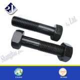 Verzinkt/Black Finish Bolt und Nut