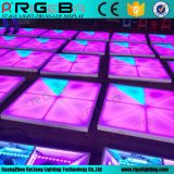 Stadiums-Disco-Partei DJ, die 1*1m RGB LED Digital Dance Floor Wedding ist