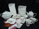 20PCS Magnesia Porcelain Dinner Sets
