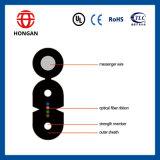 Tipo de fibra óptica G J do núcleo G657A do cabo pendente 4 da fita Y X D C H para a telecomunicação