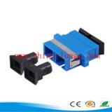 LC/PC - Adaptateur duplex de fibre optique