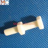 Tuerca de cerámica del tornillo del alúmina resistente abrasivo industrial