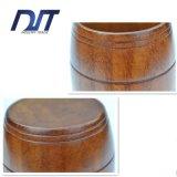 ビヤ樽の形の食品等級の自然な木のティーカップ