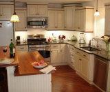 Kundenspezifischer moderner freier Entwurfs-festes Holz-Ausgangsmöbel-Küche-Schrank