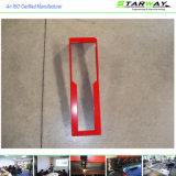 Красное изготовление металлического листа высокого качества покрытия порошка