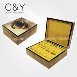 Cadre de empaquetage de montre en bois de fentes du luxe 8 de cadre de montre de mode