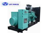 Gerador Diesel comercial do apoio 750kVA com o motor Diesel da potência de Cummins