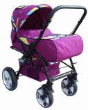 En1888 de Nieuwe Wandelwagen van de Baby van het Ontwerp met Katoenen Kussen en de Dekking van de Voet